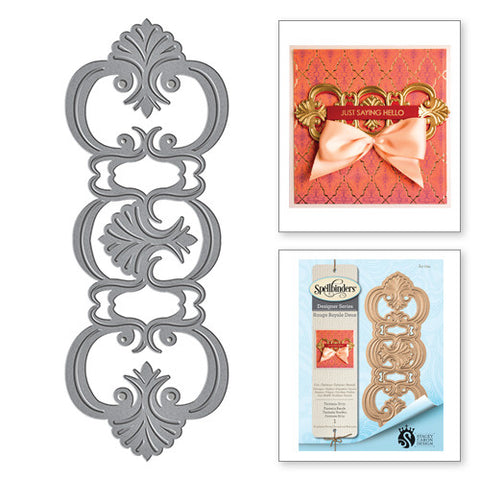 Spellbinders Shapeabilities Fantasia Strip Die - Rouge Royale Deux Collection by Stacey Caron
