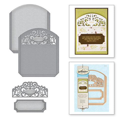 Spellbinders Shapeabilities Pocket Elegante Die