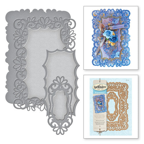 Spellbinders Heirloom Rectangle Dies