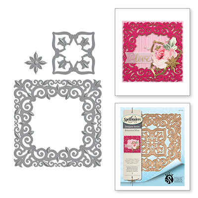 Spellbinders Designer Series - Designer Series - Botanical Bliss - Botanical Medallion - by Stacey Caron