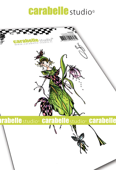 "Carabelle Studio - ""Cling Stamp A6 : ""A Fairy"" by Soizic - NEW -"
