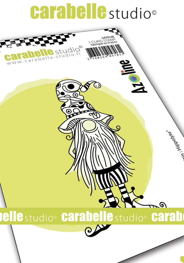 "Carabelle Studio - ""Cling Stamp A7 : ""Hippolyte"" by Azoline - NEW - PRE-ORDER"