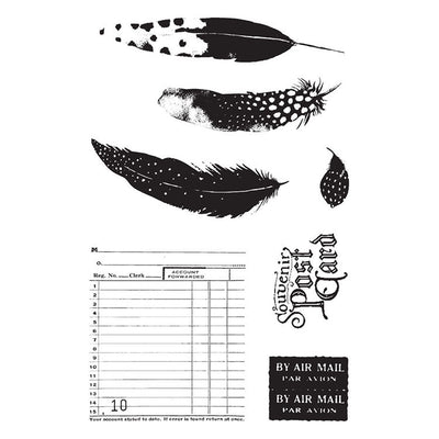Prima Marketing - Midnight Garden Stamp Set