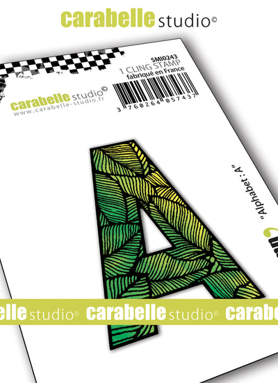 "Carabelle Studio - ""Carabelle Studio Cling Stamp Small By Alexi : ""Alphabet & Numbers"" - NEW - PRE-ORDER - PRE-ORDER"