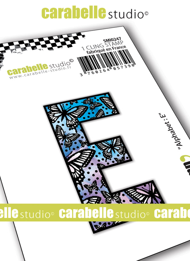 "Carabelle Studio - ""Carabelle Studio Cling Stamp Small By Alexi : ""Alphabet, Numbers, Shapes & Punctuation"" - NEW - PRE-ORDER - PRE-ORDER"
