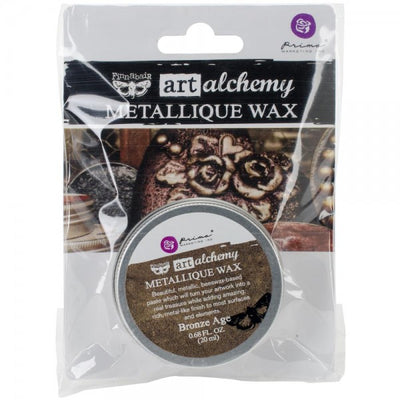 Finnabair Art Alchemy Metallique Wax  - Bronze Age