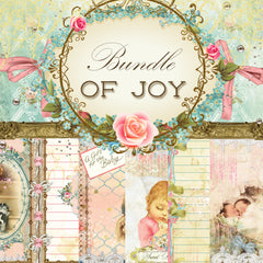 Bundle of Joy Digital Collection - Entire Collection - 10 Papers/Designs, 4 Envelopes w/cards,Tags, and Ephemera Sheet