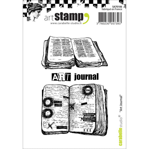 "Carabelle Studio Cling Stamp A7 - ""Art Journal"""