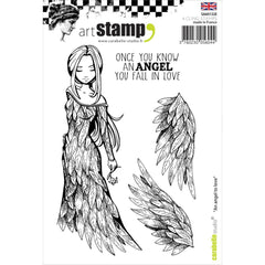 "Carabelle Studio Cling Stamp A6 - ""An Angel to Love"""