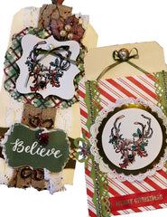 "Carabelle Studio Cling Stamp A6 - ""Christmas"" - Jen Bishop"