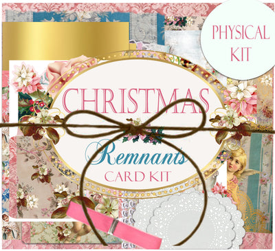 Christmas Remnants Journal Kit - Journal Etc.