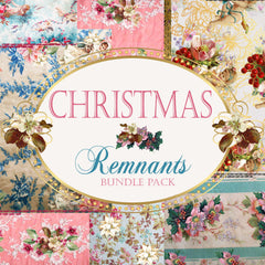 Christmas Remnants - Digital Journal Kit - Bundle Pack