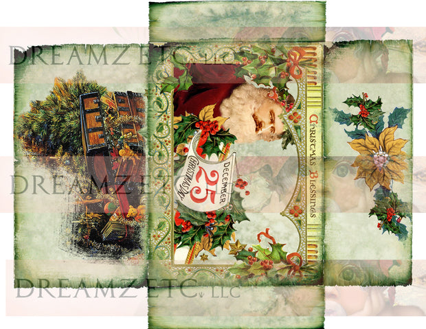 Christmas Carol Digital Collection - Envelopes
