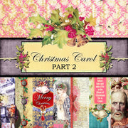 Christmas Carol Digital Collection - Paper Pack 2