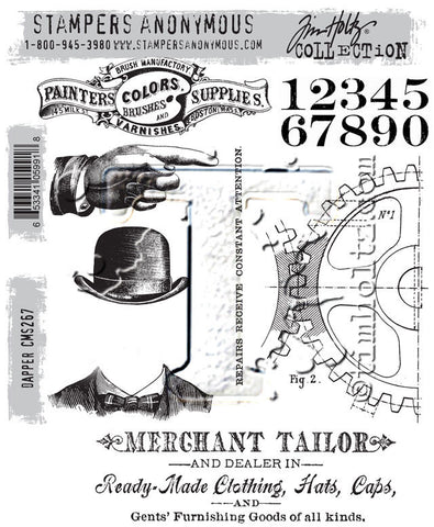 DAPPER STAMP SET
