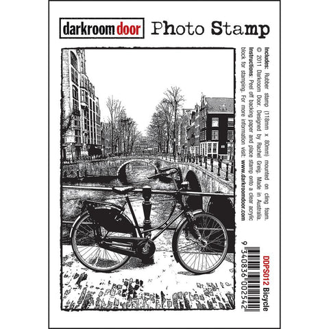 Darkroom Door Cling Stamps - NEW! - Bicycle
