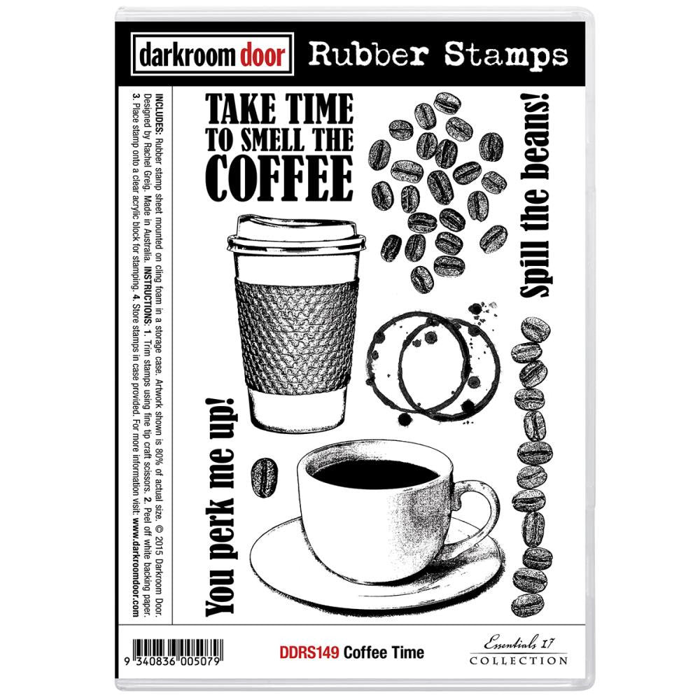 Darkroom Door Cling Stamps - NEW! - Coffee Time