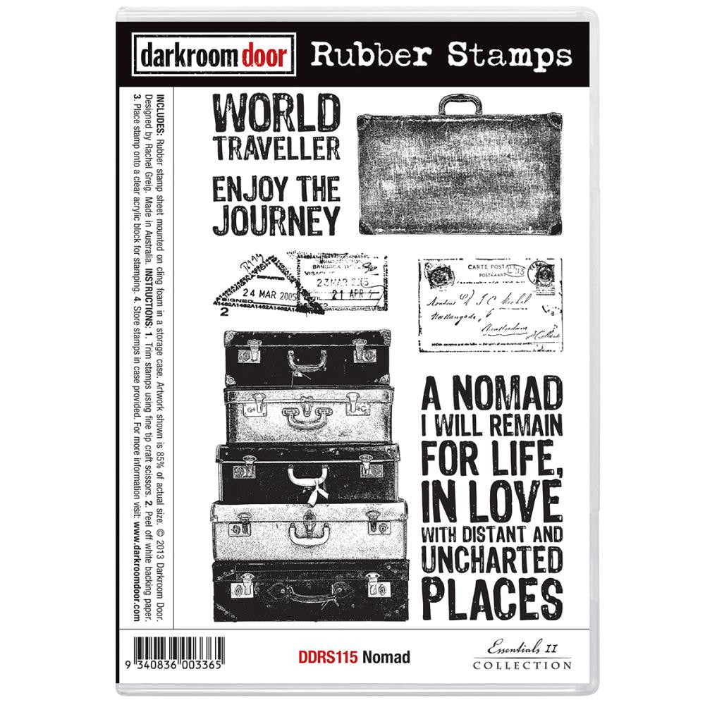 Darkroom Door Cling Stamps - NEW! - Nomad