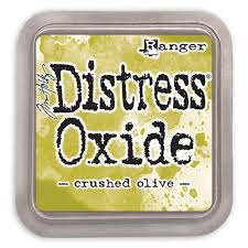 NEW! Distress Oxide - Crushed Olive - Tim Holtz/Ranger