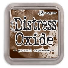 NEW! Distress Oxide - Ground Espresso - Tim Holtz/Ranger