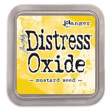 NEW! Distress Oxide - Mustard Seed - Tim Holtz/Ranger