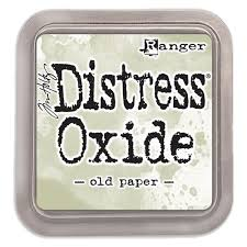 NEW! Distress Oxide - Old Paper - Tim Holtz/Ranger