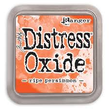 NEW! Distress Oxide - Ripe Persimmon - Tim Holtz/Ranger