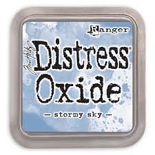 NEW! Distress Oxide - Stormy Sky - Tim Holtz/Ranger