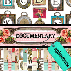 Documentary - Ephemera - Digital Paper Collection