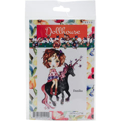 Dollhouse Cling Stamp - Danika