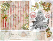 Eclectic Christmas - Digital Journal Kit - Card Sets