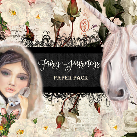 Fairy Journeys Digital Paper Collection - 10 Papers/Designs