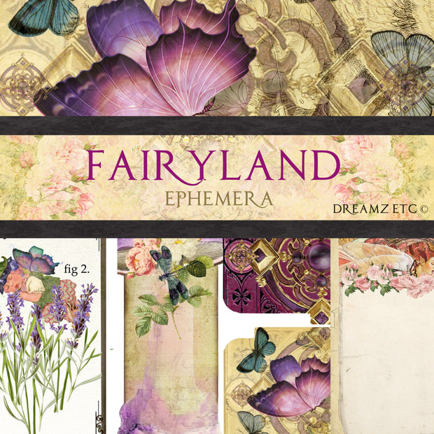 Fairyland Ephemera Pack