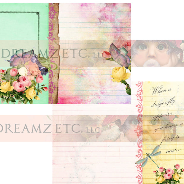 Fairyland - Lined Journal Paper