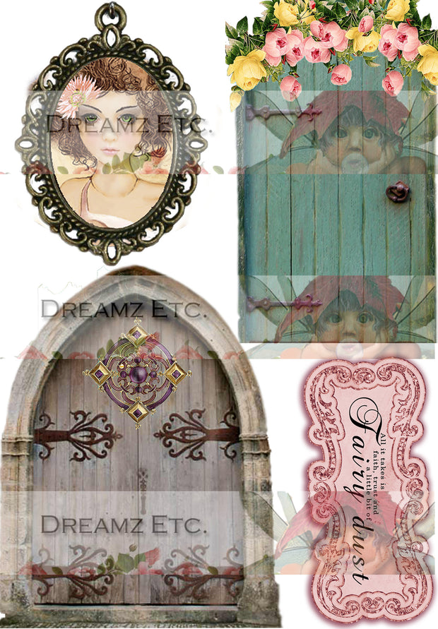 Fairyland - Doors, Medallions and Frames