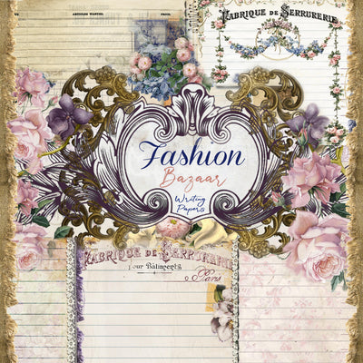 Fashion Bazaar - Writing Papers - Digital - NEW RELEASE!