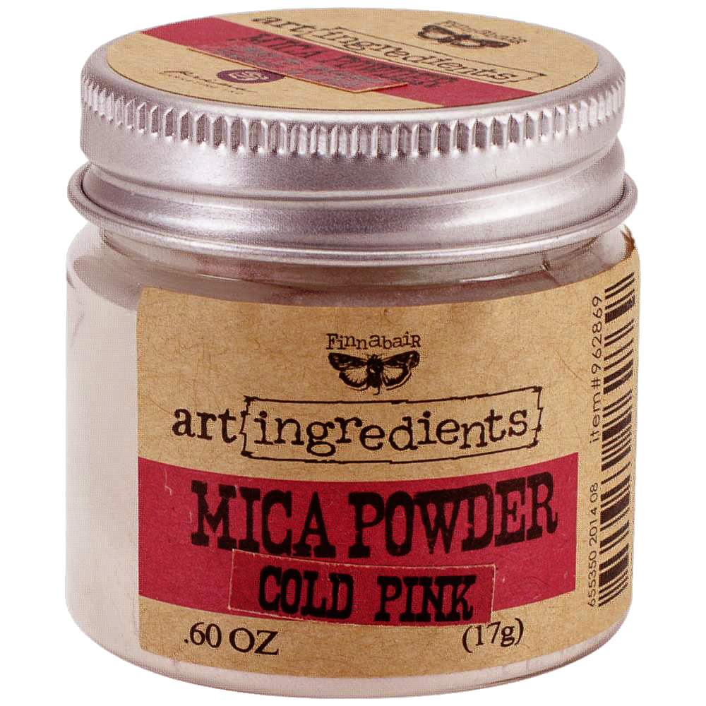Finnabair Cold Pink Mica Powder