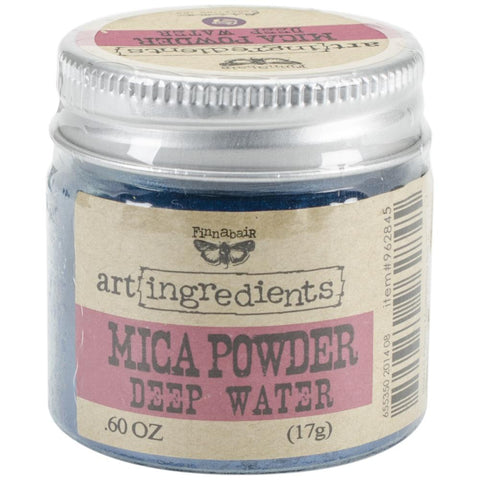Finnabair Art Ingredients Mica Powder - Deep Water