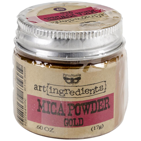 Finnabair Art Ingredients Mica Powder - Gold