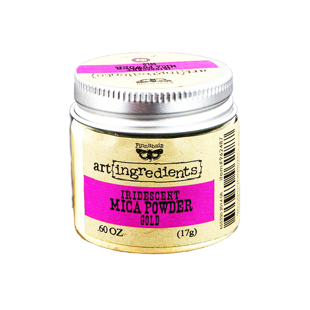 Finnabair Iridescent Gold Mica Powder