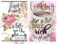 French Cafe - Digital Journal Kit - Bundle Pack