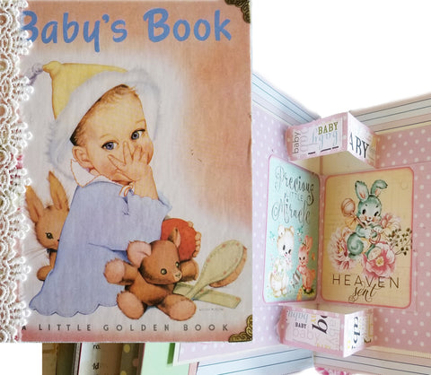 Baby Book - Journal Etc. - HUGE!