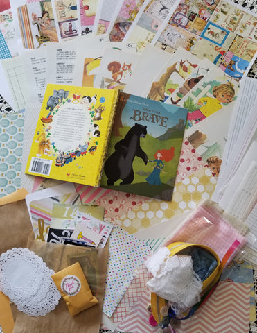 Journal Kit - Children's Classic Tales Theme - Journal Etc.
