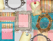 Golden Tales - Digital Journal Kit/Paper Pack