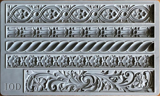 IOD Decor Mould - Iron Orchid Designs - Trimmings 2