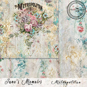Jane's Memoirs Collection by Jen Bishop - 12x12 Paper - PRE-ORDER