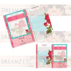 Floral Dreamz Planner/Journal - Important Dates & Note to Self - Printable