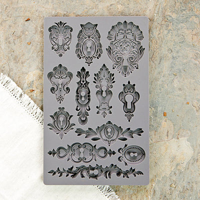 Iron Orchid Designs Vintage Art Decor Mould - Keyholes