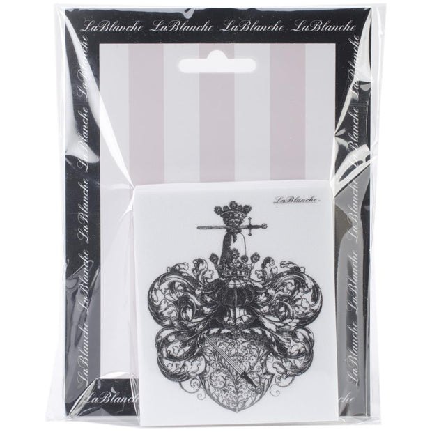 "Lablanche Silicone Stamp - Book Plate Stamp - 3""X3.5"""
