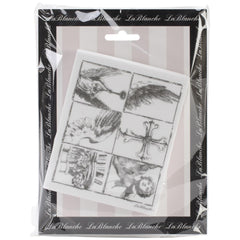 Lablanche Silicone Stamp - Wing Pieces Stamps